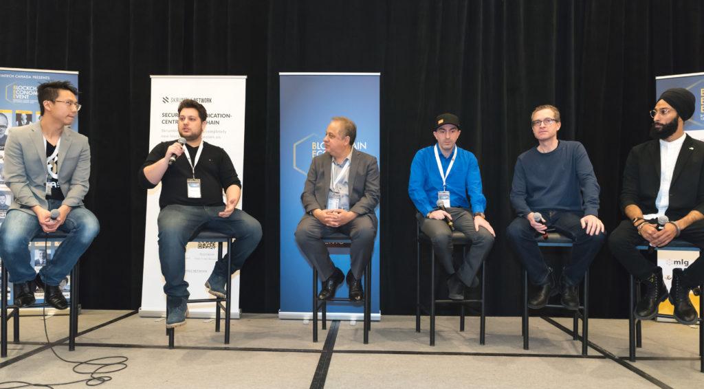 ITO converation at the blockchain economic event