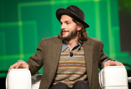 ashton kutcher donates ripple on the ellen show