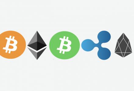 five biggest cryptocurrencies