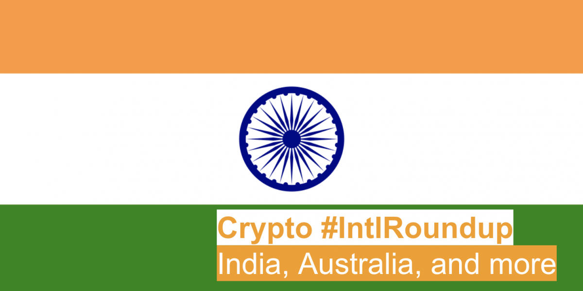 #IntlRoundup: Global Actors Promoting Cryptocurrency Adoption