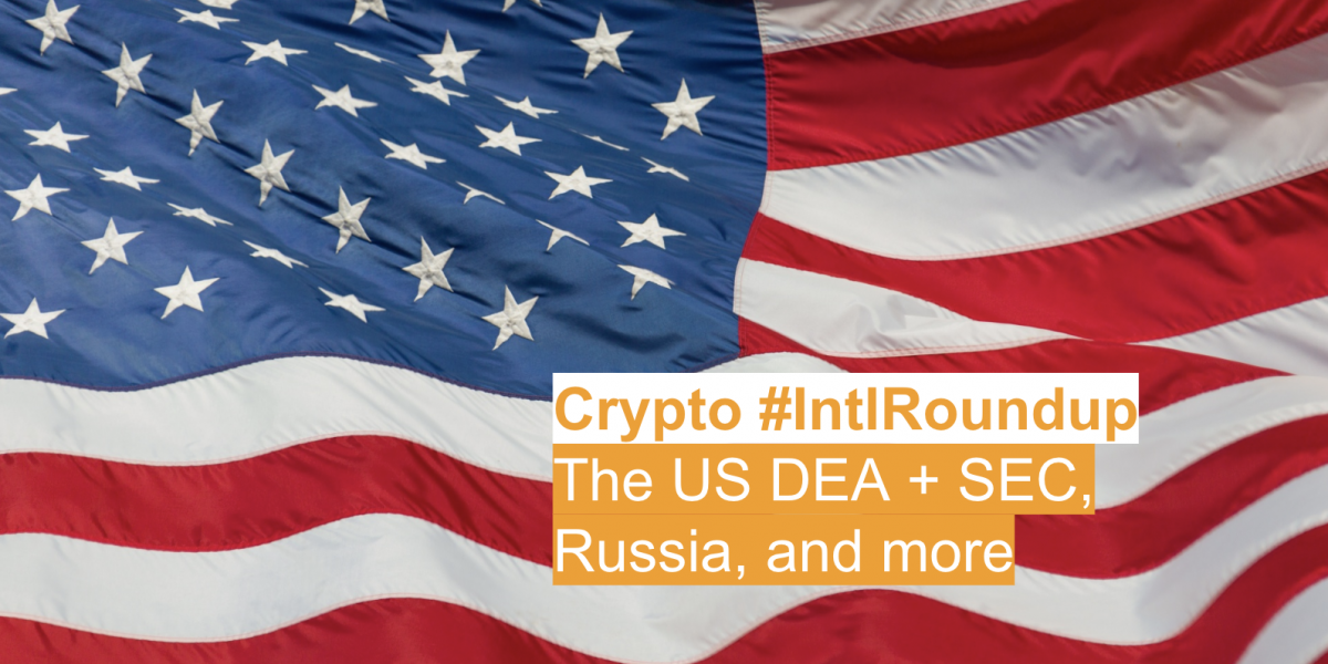 #IntlRoundup: DEA Agent Says Bitcoin is Not a Criminal Tool