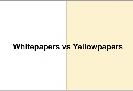 Whitepaper Versus Yellowpaper: What is the Difference?