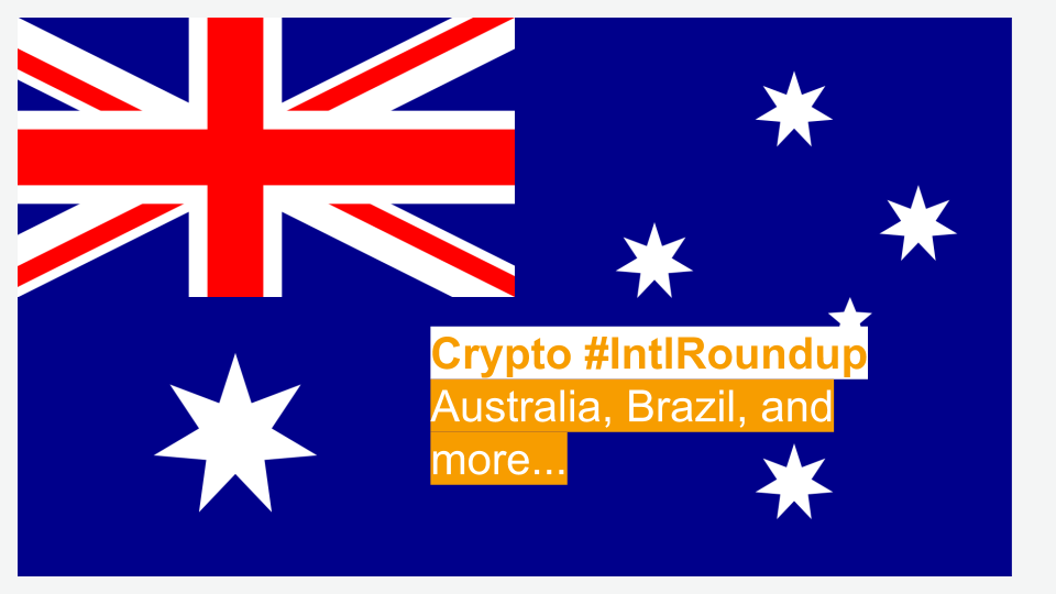 #IntlRoundup: Governments in Australia, Brazil, and Kenya Find Uses for Blockchain Technology