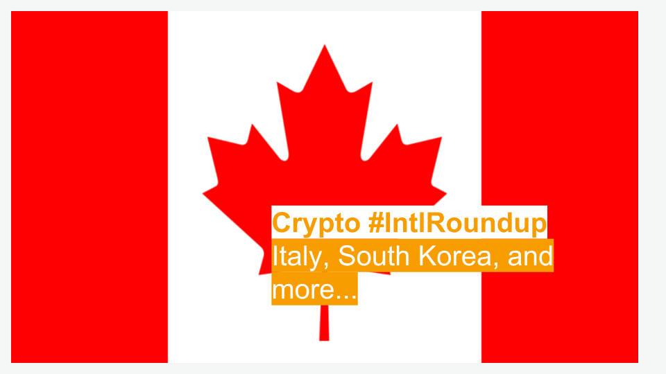 #IntlRoundup: A Canadian Company Fights the U.S. SEC